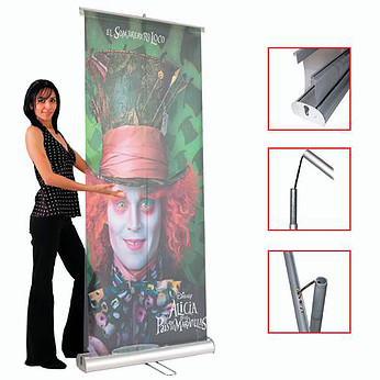 ROLL UP STD 2 V 80 x 200cm